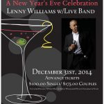 Lenny Williams Poster New year